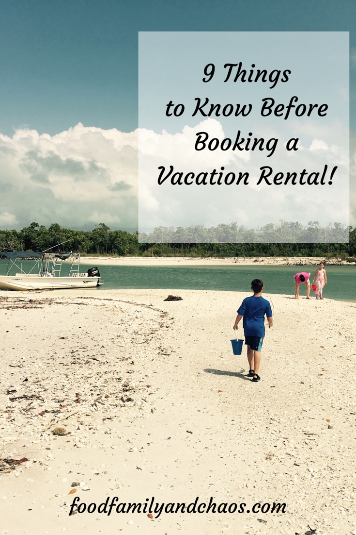 Things To Know Before Booking A Vacation Rental Food Family - 9 things not to bring on your next vacation