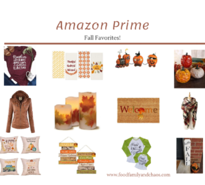 Amazon Prime fall favorites