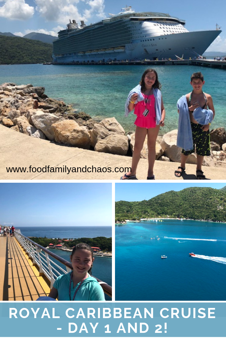 royal caribbean cruise - day 3 and 4