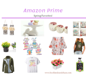 amazon prime spring favorites