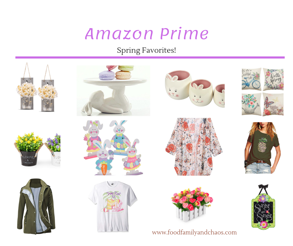 amazon prime spring favorites