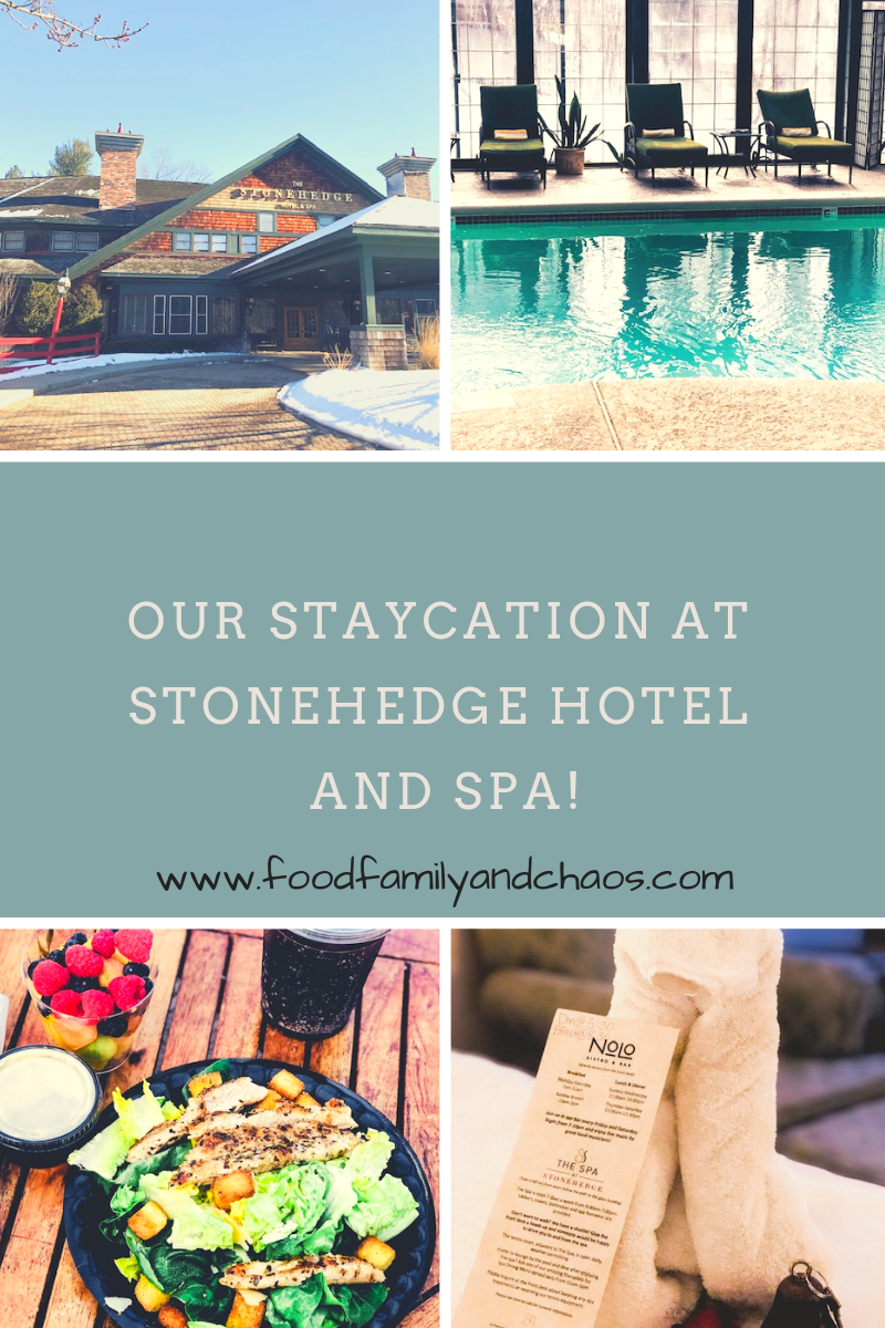 Our staycation at the stonehedge hotel and spa