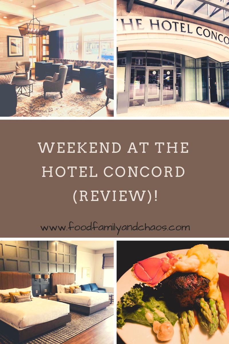 weekend at the hotel concord