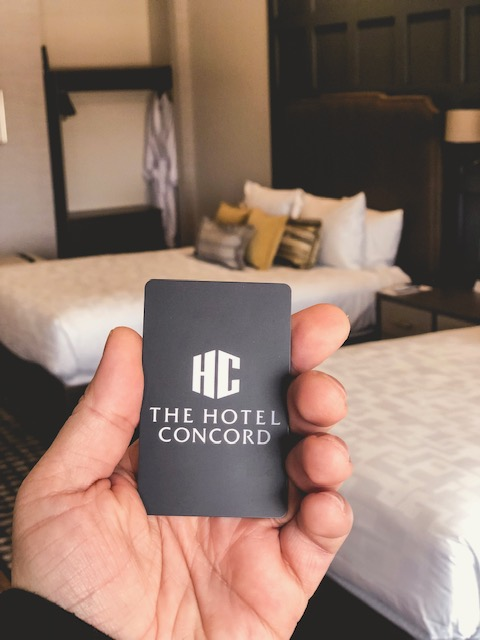 weekend at hotel concord