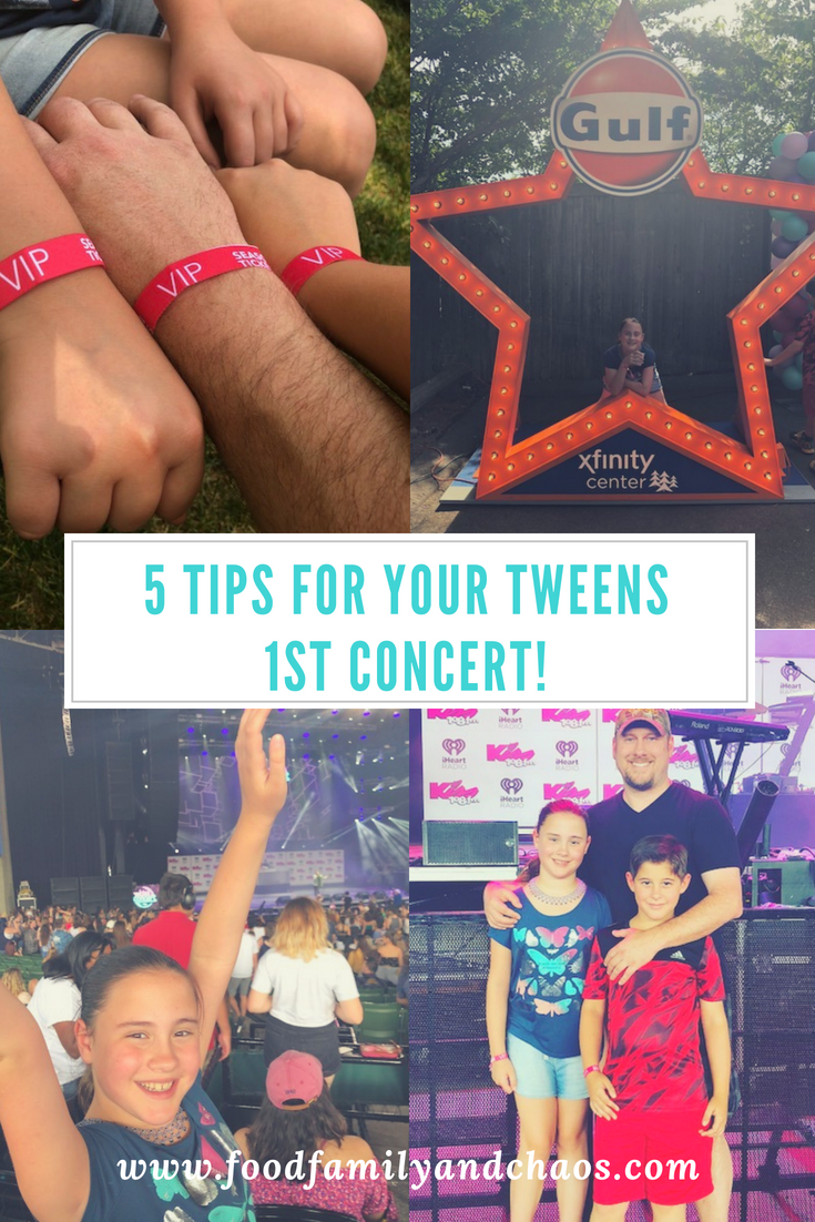 5 tips for your tweens first concert