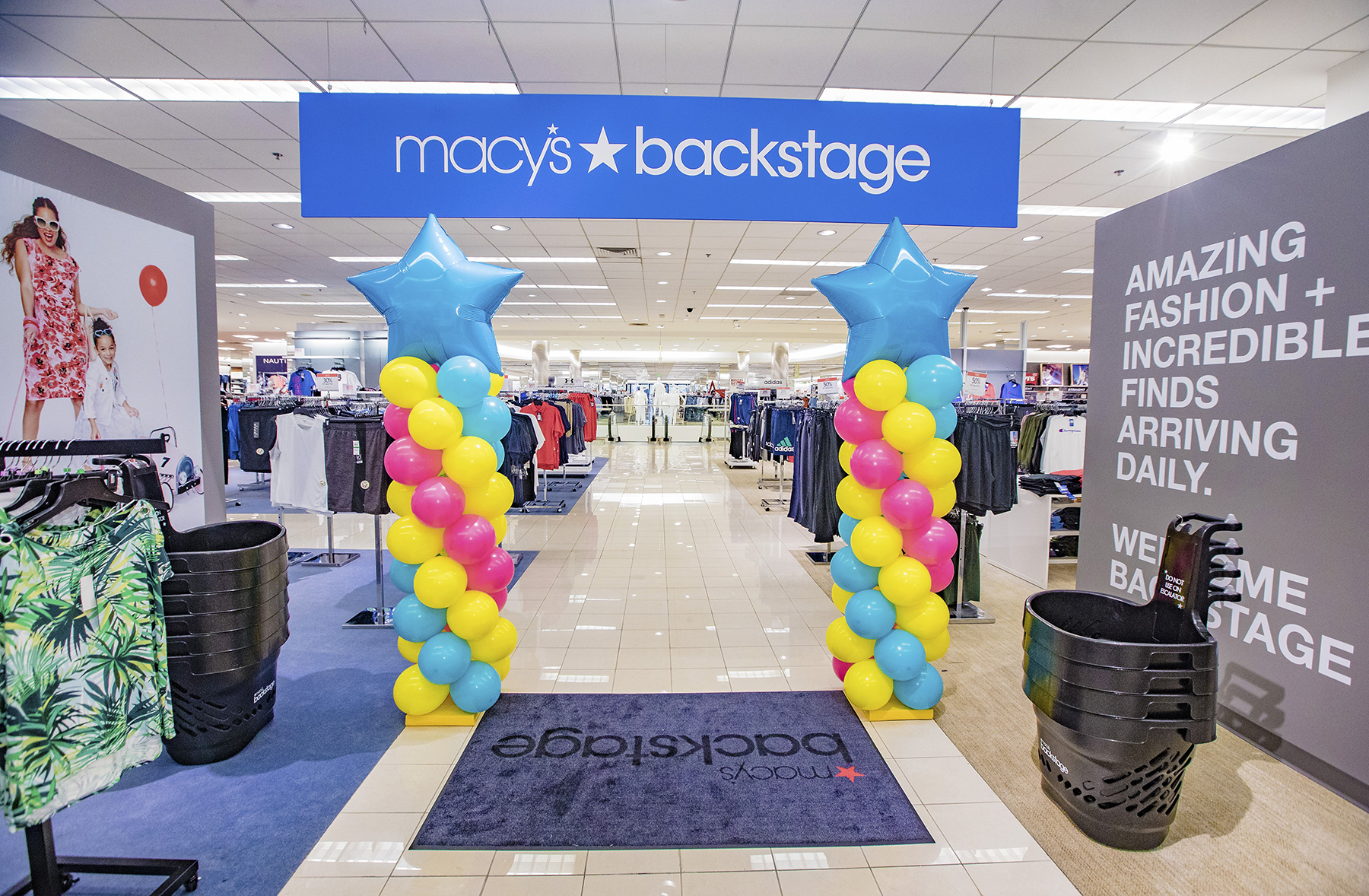 back to school shopping at macy's backstage