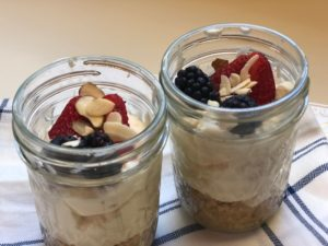 mascarpone berry pots