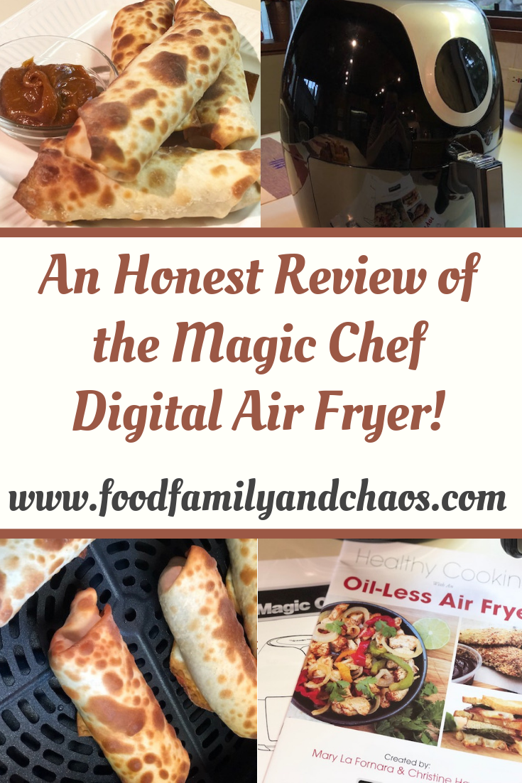 an honest review of the magic chef digital air fryer