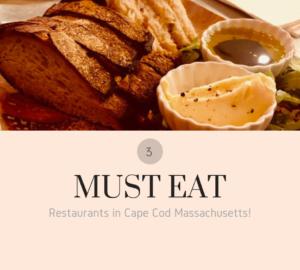 must eat restaurants in cape cod massachusetts