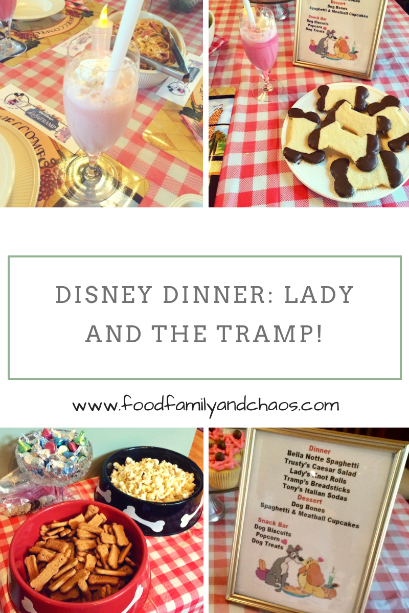 Disney Dinner: Lady and the Tramp