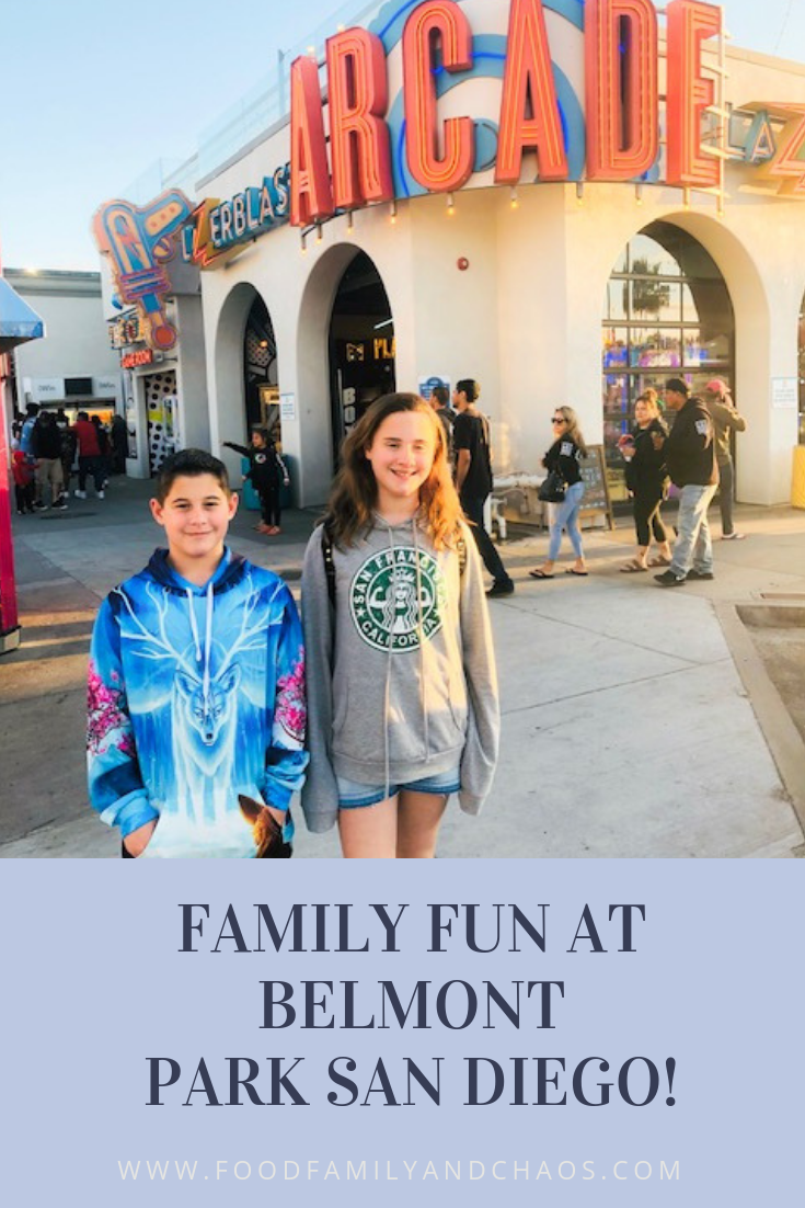 FAMILY FUN AT BELMONT PARK SAN DIEGO!