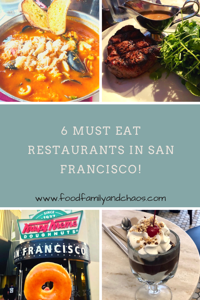6 Must Eat Restaurants in San Francisco!