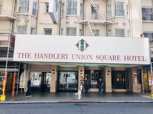 review of the handlery union square hotel in san francisco