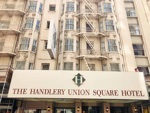 Review of Handlery Union Square Hotel in San Francisco!