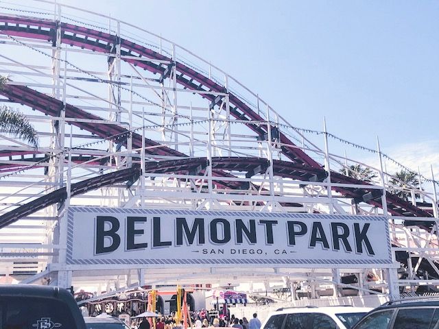 family fun at belmot park san diego california