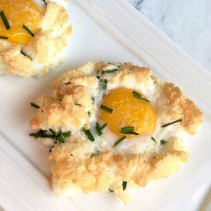 3 ingredient cloud eggs breakfast