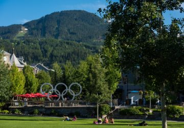 Visit Whistler with your kids this summer