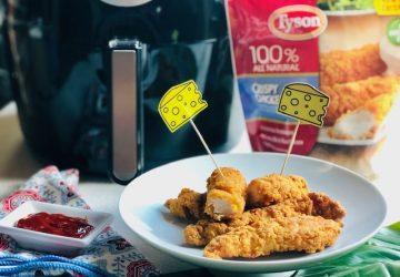 How to Make Crispy Air Fryer Chicken Strips!