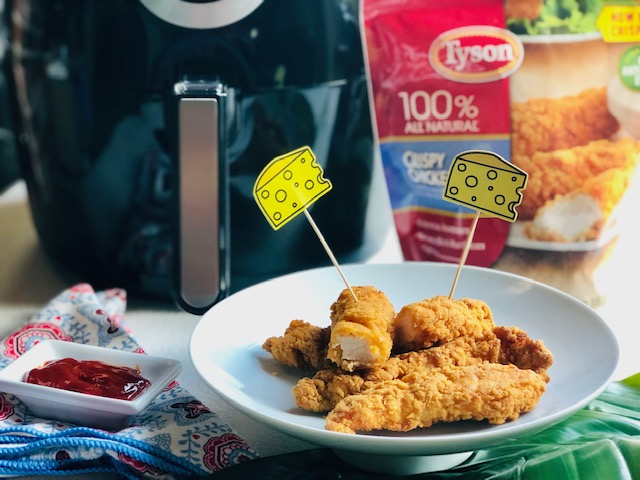 How to Make Crispy Air Fryer Chicken Strips!
