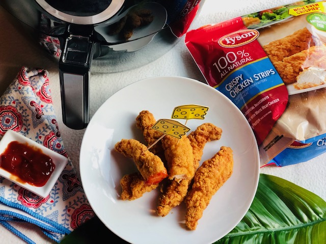 How to Make Crispy Air Fryer Chicken Fingers!