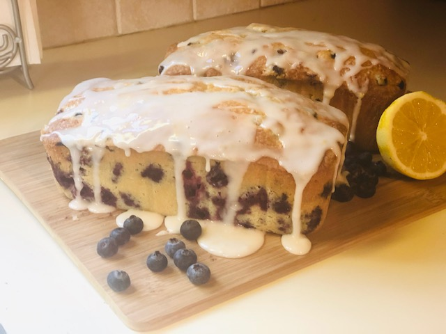 Lemon-Blueberry Pound Cake!