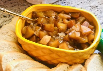 Vidalia Onion and Peach Chutney
