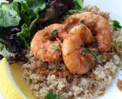 Lemon-Garlic Jumbo Shrimp